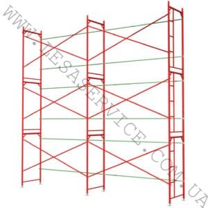 The frame scaffold  6х6