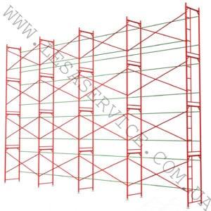 The scaffold   8х12