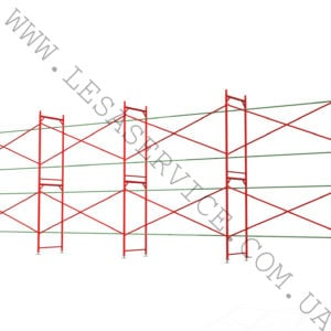 The frame scaffold  4х12