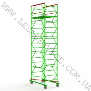 The scaffold tower 4+1, 1,2х2,0 (2 diagonals)