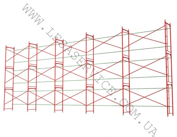 The frame scaffold  6х15