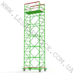 The scaffold tower 5+1, 1,2х2,0 (2 diagonals)