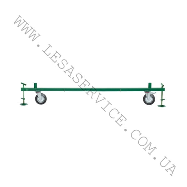 Base with wheels 1,7 m x 0,8m