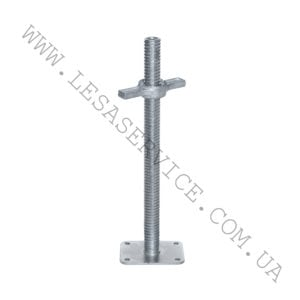 Regulative screw support