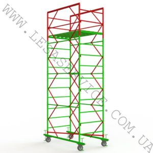 The scaffold tower 3+1, 1,7х0,8 (1 diagonal)