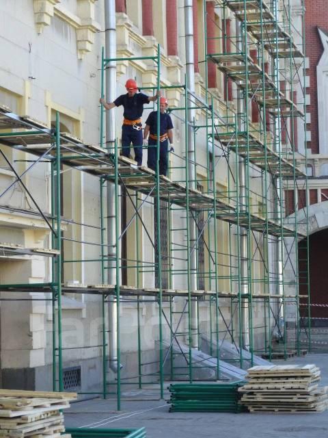 З чого складаються будівельні риштування: елементи і конструкція
