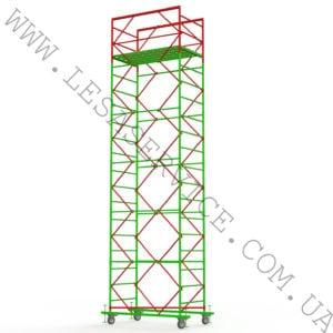 The scaffold tower  5+1, 1,7х0,8 (2 diagonals)