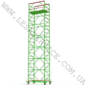 The scaffold tower 6+1, 1,2х2,0 (2 diagonals)