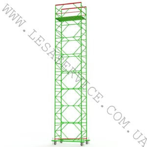 The scaffold tower 7+1, 1,2х2,0 (3 diagonals)