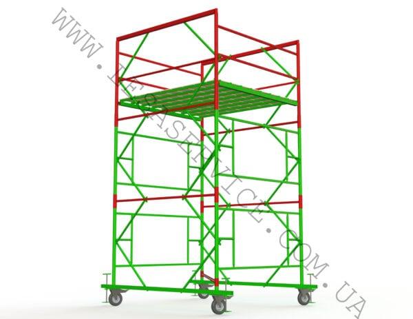 (Русский) Вышка 2+1, 2,0х2,0 (1 диагональ)