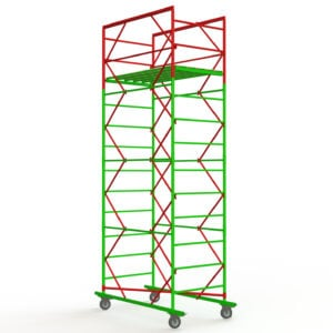 The scaffold tower  3+1, 1,6х0,8 (1 diagonal)