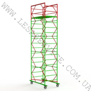 The scaffold tower 4+1, 1,6х0,8 (2 diagonals )